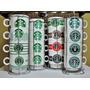 Tazas Starbucks Cafe Grandes Juego X 4 Con Rack Cromado