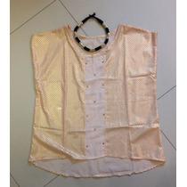 Blusa Remera Mujer Saten Verano 2016