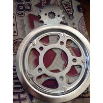 Kit De Transmicion Honda Twister 250 + Lubricante De Cadena