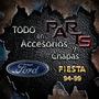 Guardabarro Delantero 96/99 Imp. Ford Fiesta 94/99 Y Mas...