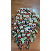 Llaveros Tejidos En Hilo Al Crochet - Souvenir
