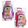 Mochila C/ruedas 18 Grande Barbie 16789