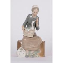 Unica! Figura De Porcelana Lladró De Coleccion!