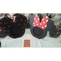 Sourvenirl Portaretratos Mickey Y Minnie + 1 Central!