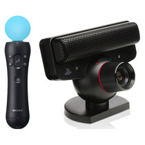 Kit Control Ps Move Ps3 + Eye Camera Ps3 Sony Original Nuevo