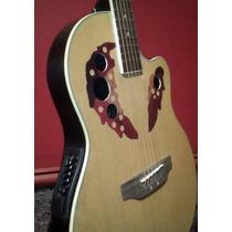 Guitarras Electroacusticas T/ovation C/equ 4b Caja Fibra!!!