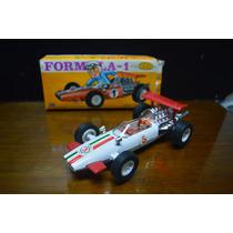 Auto Chapa Juguete Antiguo Marca Saxo Formula 1 En Caja