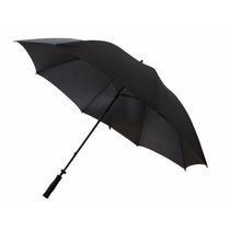 Paraguas Largo Reforzado Antiviento Automatico