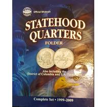 Album Eeuu Con 56 Monedas Quarters Estados Ceca S Proof