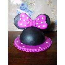 Adorno Para Tortas Mickey, Minnie, Porta Velas O Nombre