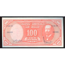 Chile 10 Centesimos Resellado S/100 Pesos. Unc