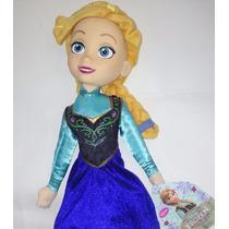 Muñeca Peluche Anna De Frozen Disney (37 Cm!!!!)