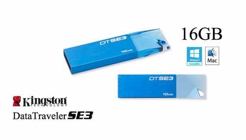 Pen Drive 16 Gb Kingston Kc-u6816-5tk/dtse3