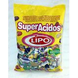 Caramelos Super Ácidos Y Gajitos Lipo 907grs. Apto Kosher