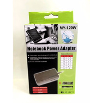 Cargador Notebook/ Netbook Universal120w De 12v A 24v 9pines