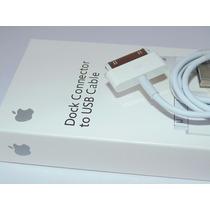 Cable Originalusb Apple Iphone 4, 4s, Ipad 2, Ipod, Ipad 1