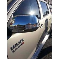 Cachas De Espejos Cromada Con Luz De Giro Toyota Hilux