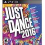 Juego Just Dance 2016 Para Play 3 Original Nuevo