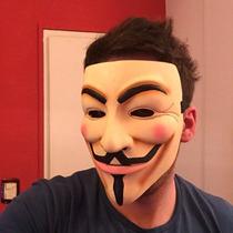 Mascara V De Vendetta Anonymous Excelente Calidad