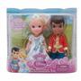 Educando Princesa Y Principe Disney Cenicienta Muñecos: 15cm