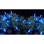 Iluminacion Luz Led Azul X100 Navideña Fiestas Bodas Deco