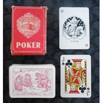 Naipes De Poker Heraclio Fournier Monos.