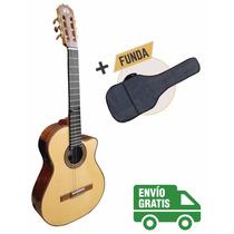 La Alpujarra 85kec - Guitarra Electro-criolla De Concierto