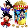 Kit Imprimible Dragon Ball Z Candy Bar Y Cotillon Cumple 2x1