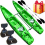 Kayak Rocker Twin Catamaran + 2 Remos + 2 Butacas + Regalos