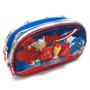 Cartuchera 2 Cierres 3d Vengadores Ironman Thor Mundo Manias