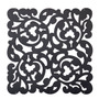 Set X4 Paneles Decorativos Arabesco Negro Deco Morph