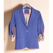 Blazer Azul Francia Le Chomb Chaquette Xs | Xl Giacca