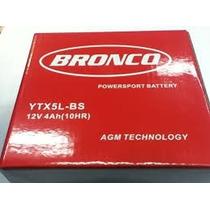Bateria Bronco Gel Ytx5 Cg 150 Titan