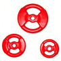 Disco Con Manijas Plastico 5 Kg Tipo Body Pump Naranja
