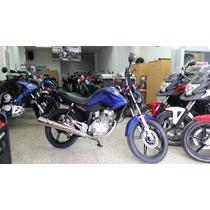 Jm-motors Honda Cg 150 Nueva Titan 2016 Azul Ultima Unidad