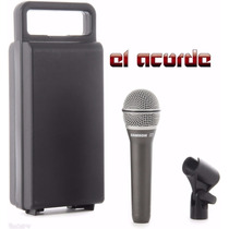 Microfono Samson Q7 Profesional C/estuche El Acorde Pacheco