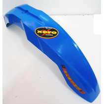 Guardabarro Delantero Motocross Flecha Universal Azul