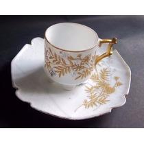 Tacita De Café Decorativa Porcelana