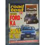 Revista Road Test Nº 78 Ford Ka Corolla Dx 1.6 Siena Hl 16v