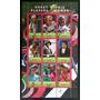 Rwanda Deportes, Bloque 9 Sellos Tenis Fem 2010 Usado L7033