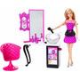 Muñeca Barbie Con Salon De Peluqueria Original Mattel Nenas