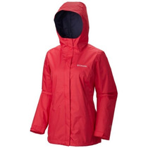 Campera Columbia Arcadia Impermeable Omni-tech Lluvia Mujer