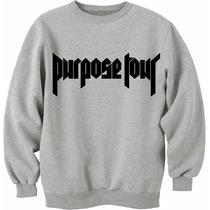 Combo Buzo Purpose Tour + Remera Justin Bieber 94