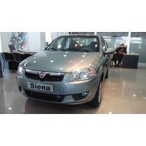 Fiat Nuevo Siena 1.4 0km 2016contado Financiado Opcional Gnc