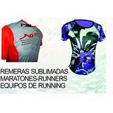 Remeras Para Eventos Deportivos-maratones-equipos De Running