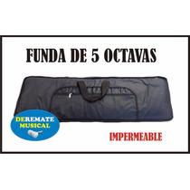Funda De Teclado De 5/8 5 Octavas Casio Roland Korg Yamaha