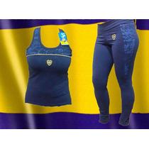 Conjunto Dama Boca Juniors Calza