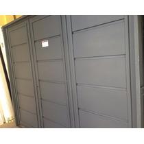 Portón Abrir Garage Robusto Chapa 18 Y 16 Pesada 240x200