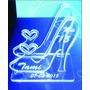 Souvenir Zapato Porta Celular Acrilico Cumple 15
