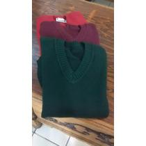 Sweaters Escolares Dralon Vs. Colores T8 Al 16 Oportunidad!!